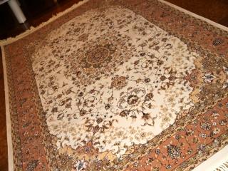 最高級イラン機械織りカーペットラグ990015
