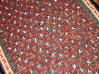 細かい模様のセネキリムセンターマット136000