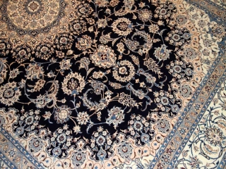 高級ペルシャ絨毯ナインリビング35298