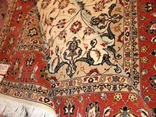 高品質ペルシャ絨毯タブリズリビング39064