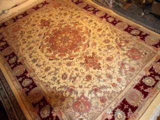 手織りリビングペルシャ絨毯タブリーズ42013