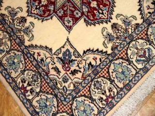 正方形ナイン手織りペルシャ絨毯49999-13003