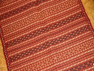 高級手織りキリムのアフシャール産ウール46471