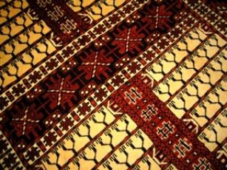 トルケマンペルシャ絨毯ウールラグ2354