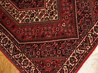 ビジャールの手織りペルシャ絨毯玄関マットウール188262