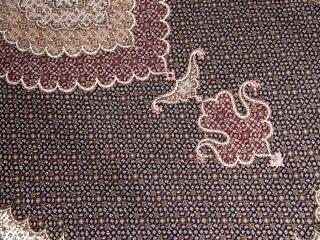 リビング手織り高級タブリーズマヒデザイン28562