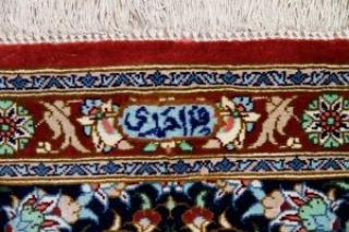 玄関マットクムシルク手織り高級絨毯48001