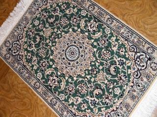 日本スタイルペルシャ絨毯玄関マットナイン58048