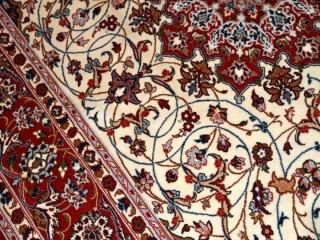 イスファハンペルシャ絨毯ラグカーペット50146