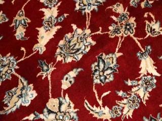 レッドカーペットのペルシャ絨毯ナイン49144