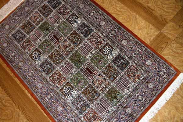 和風なペルシャ絨毯ヘシティーデザイン49056