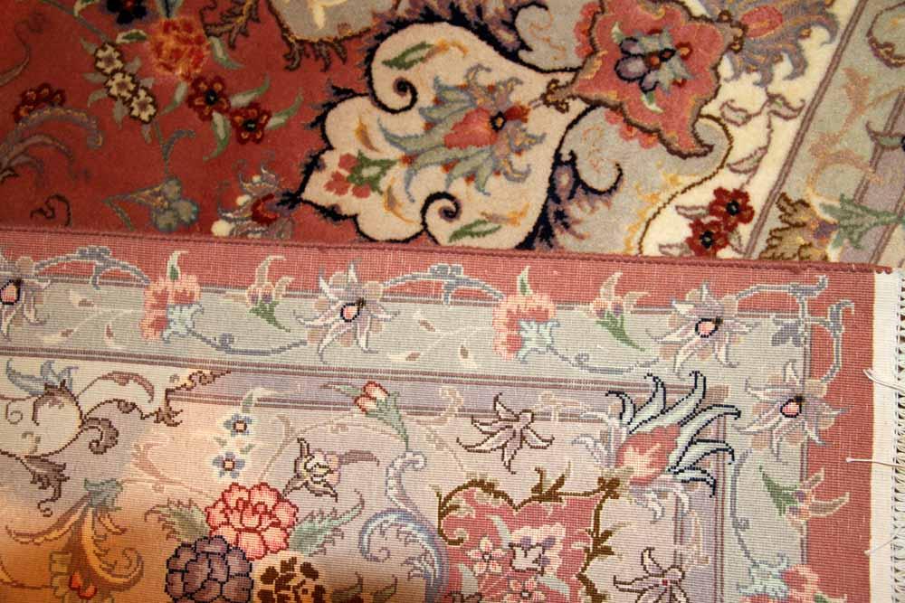 ペルシャ絨毯人気のタブリーズリビング42020