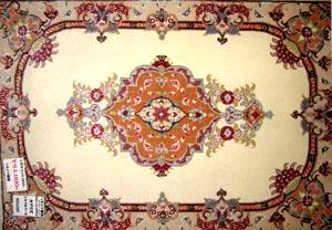 ペルシャ絨毯の玄関マットタブリーズ33084