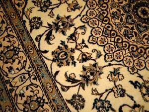 カーペット&ラグの手織りペルシャ絨毯44075