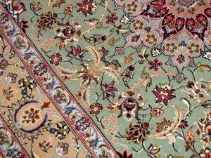 ENTESHARI工房手織りペルシャ絨毯46315