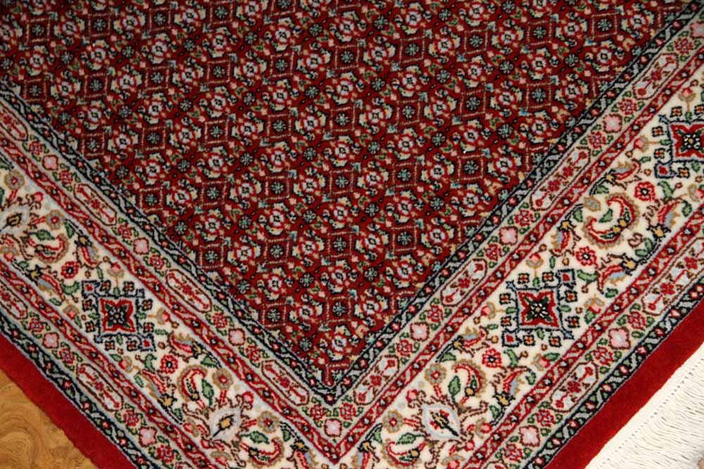 手織りペルシャ絨毯イラン製ムード産地センターラグサイズ188698