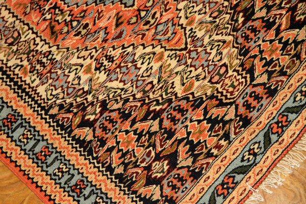 キリムのマット、ペルシャセネキリム46366