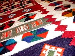 キリムカラフル高品質細かい織り方50000