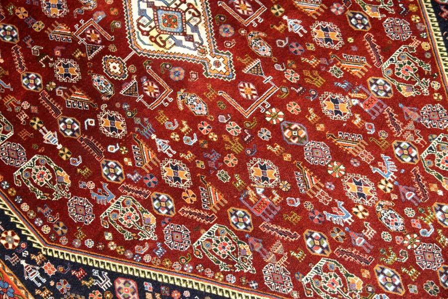 ペルシャ絨毯ビジャールセンターラグ99436