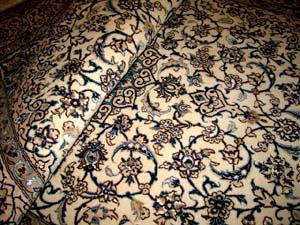 ペルシャ絨毯手織りイラン輸入カーペット35257