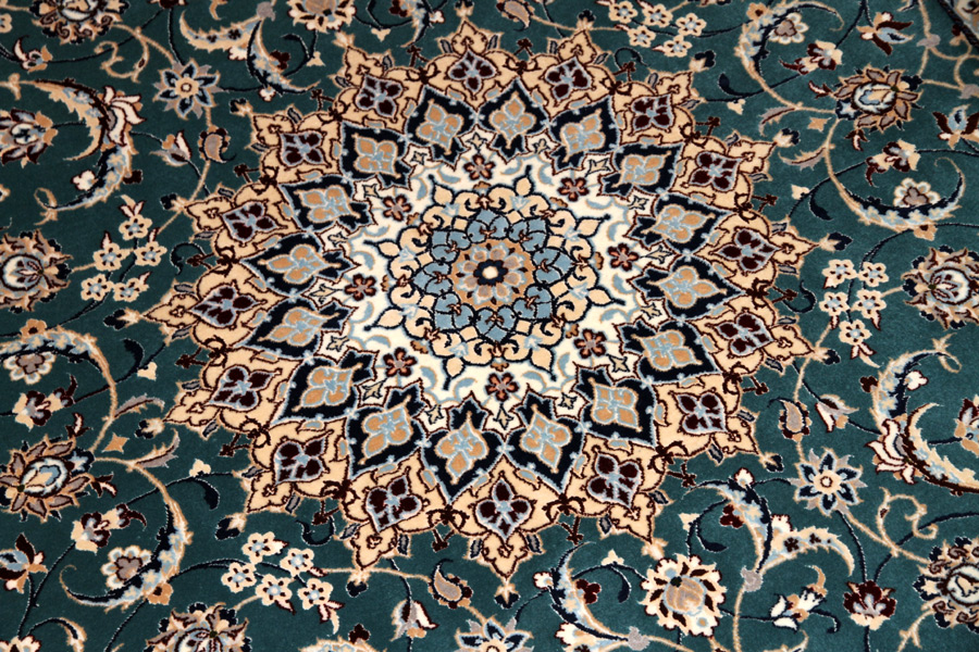高品質の手織りナイン絨毯有名工房77792
