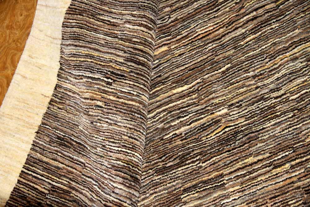 高級手織りペルシャギャッベとてもシンプルデザイン192117