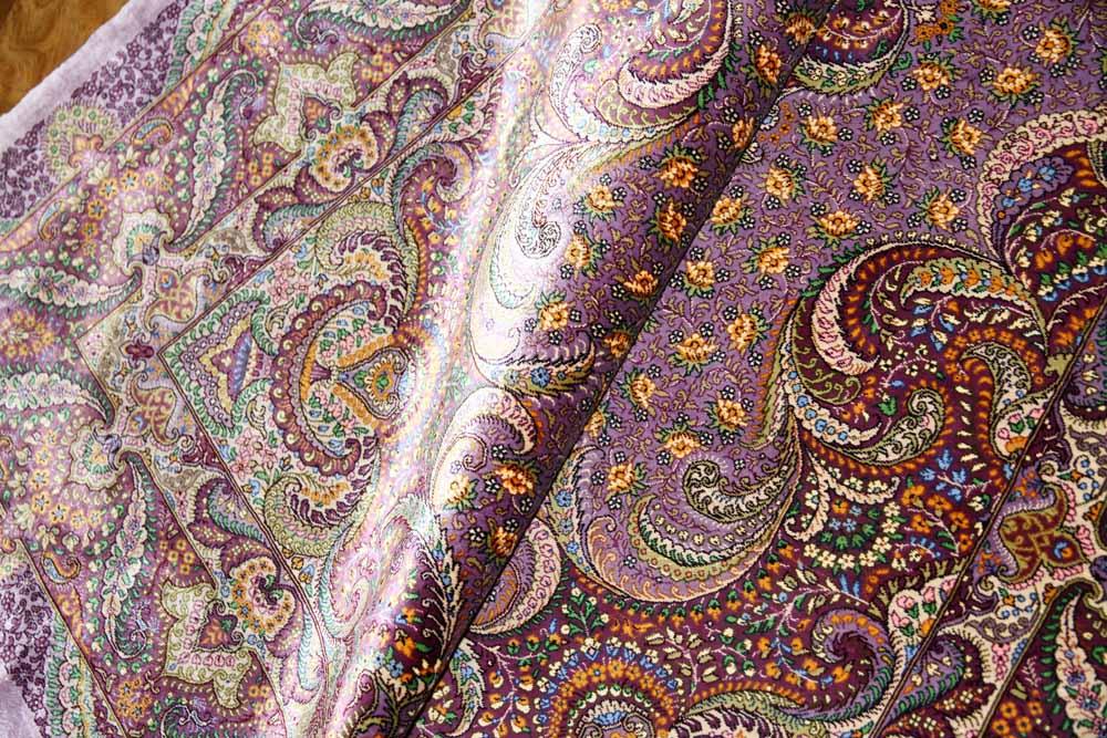 最高級有名工房のJEDDIセンターラグペルシャ絨毯クム60061