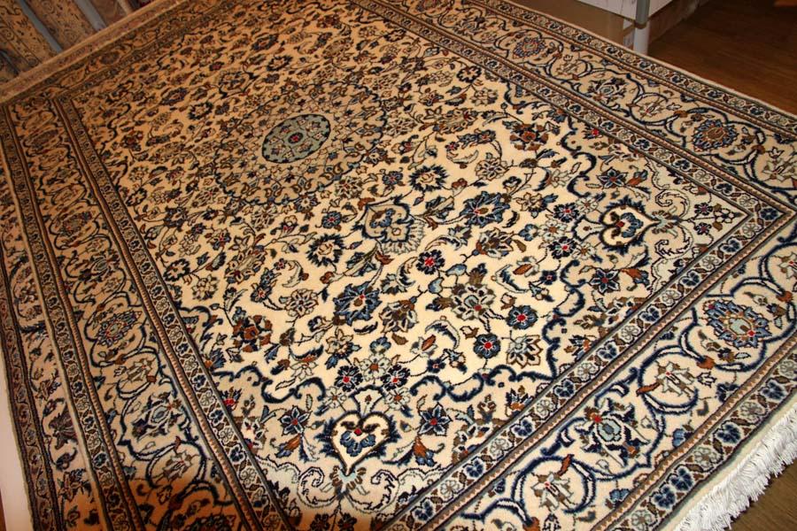 ペルシャ絨毯カシャーンウールソファー前16104