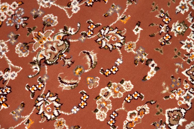 機械織りセンターラグのイラン輸入カーペット990010