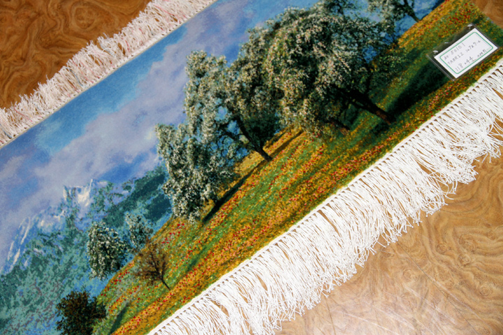 mountain view carpet 山の景色絨毯50101