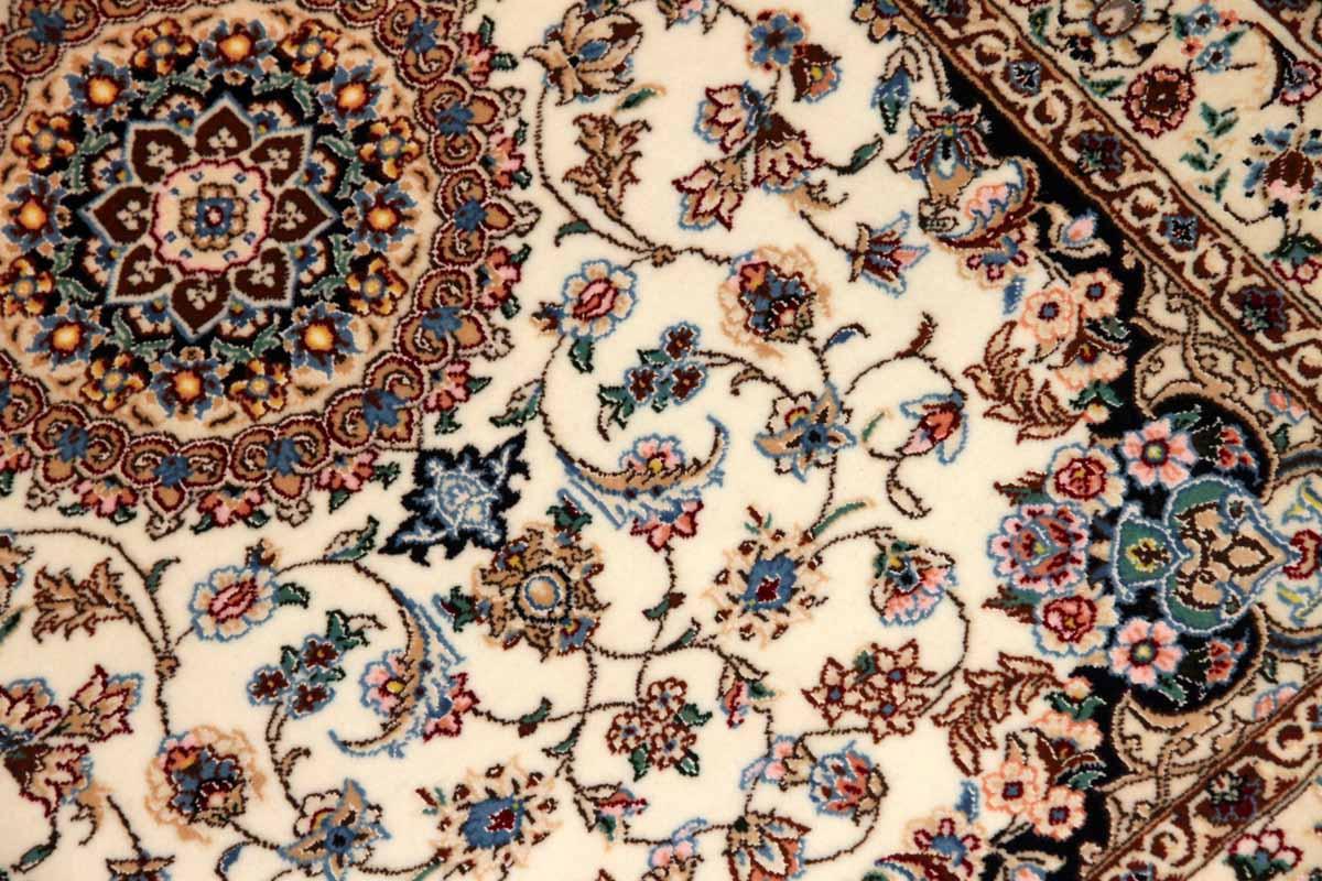 高級ペルシャ絨毯ナイン玄関マットベージュ色138381