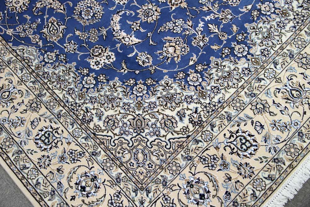 ペルシャブルー憧れのペルシャ絨毯ナイン33534