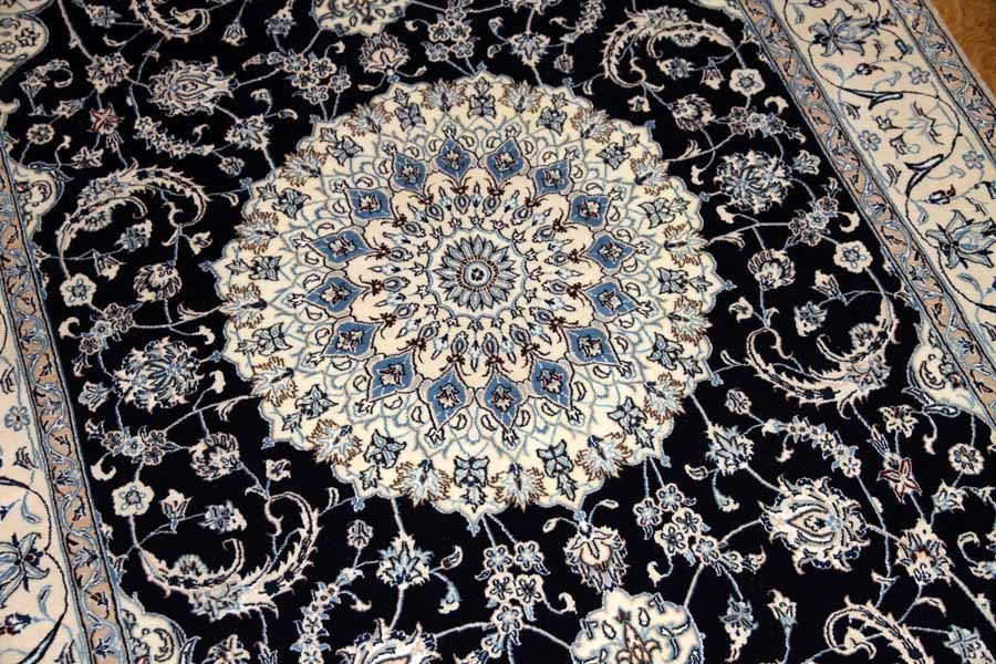 高品質有名工房、ペルシャ絨毯ナイン35237
