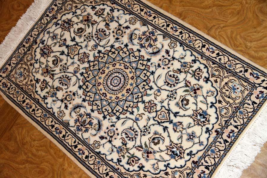 高級玄関マットペルシャ手織り絨毯ナイン58054