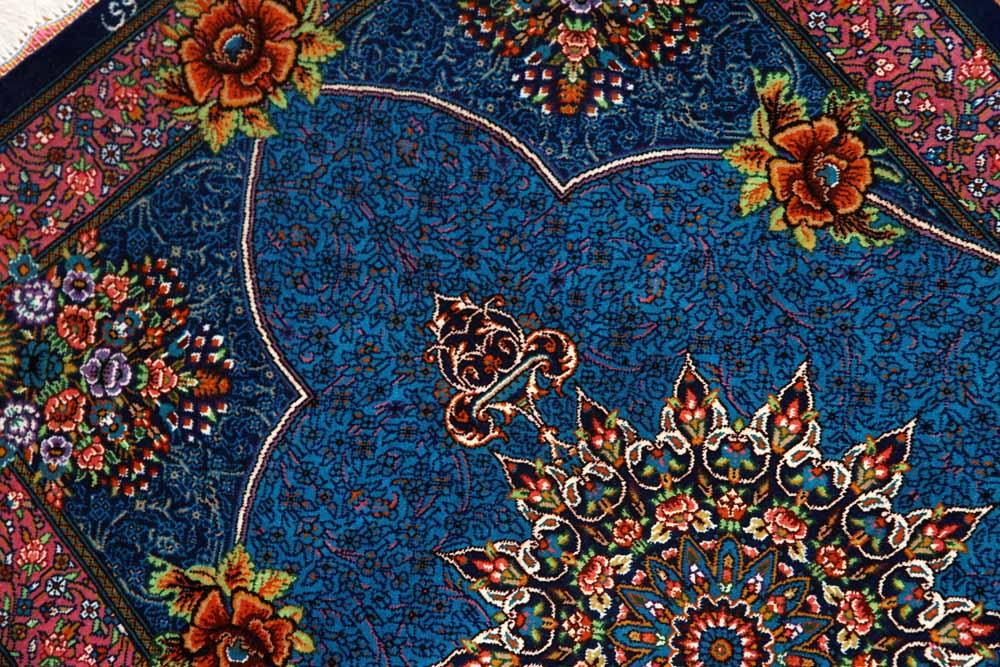 高級手織りペルシャ絨毯マンションの玄関マットシルク60035