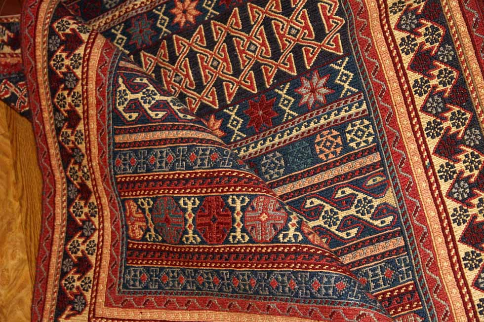 最高級手織りペルシャキリムシルジャンラグ46478
