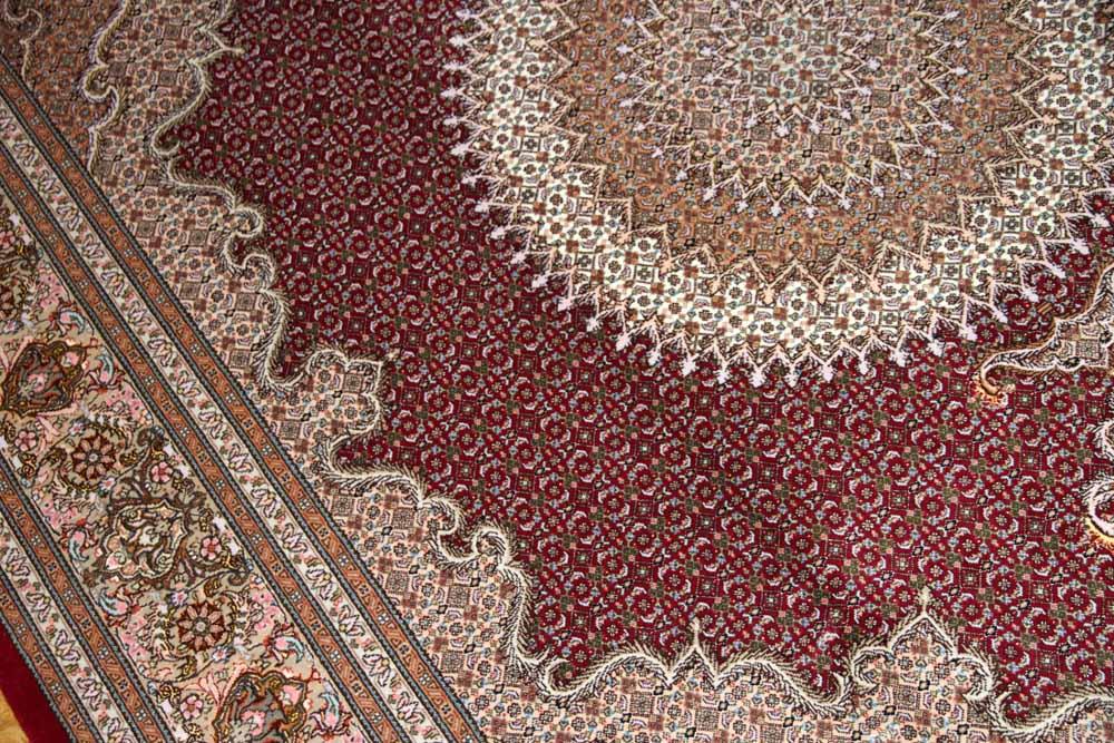 最高級リビング絨毯ペルシャタブリーズマヒ555998