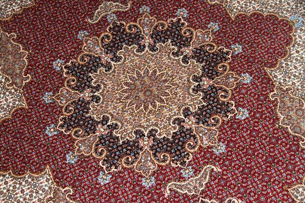 高級ハンドメイドペルシャ絨毯マヒデザイン30868