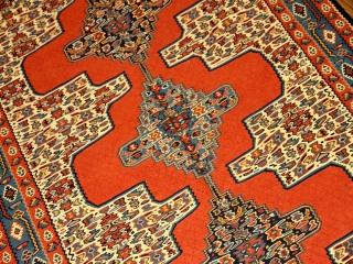 イランセネキリムのセンターラグ高品質132000