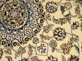 イラン輸入手織りペルシャ絨毯ナイン産激安価格玄関マット55047