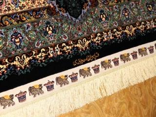 最高級有名工房のJEDDIセンターラグペルシャシルク60060