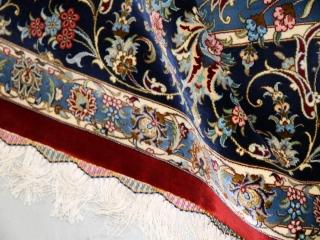 最高級カシャーンシルクメダリオンデザイン555996