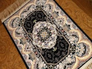 イラン製の高級機械織りのカーペット玄関マット990056