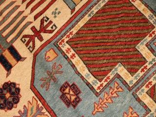 高級キリムのシルジャン産地ペルシャキリム34628