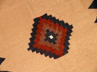 ソフレキリムの正方形ウール12018