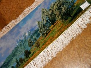 mountain view carpet 山の景色絨毯50101