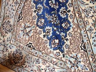 綺麗な色彩と豪華なデザイン手織りペルシャナイン21154