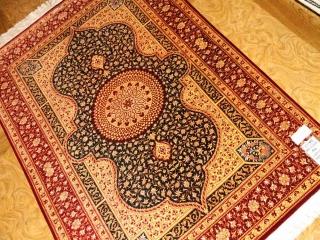 ペルシャラグシルク手織りクム産地43004