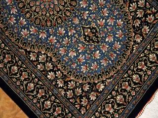 高級手織りペルシャ絨毯マンションの玄関マットシルク60046