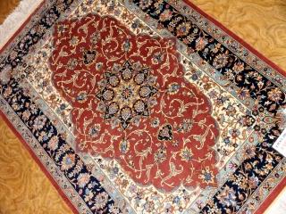 ペルシャ絨毯インテリア玄関マット48046